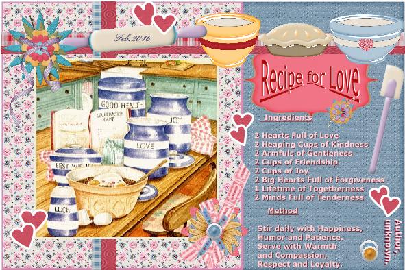 Feb.2016 - Recipe for Love