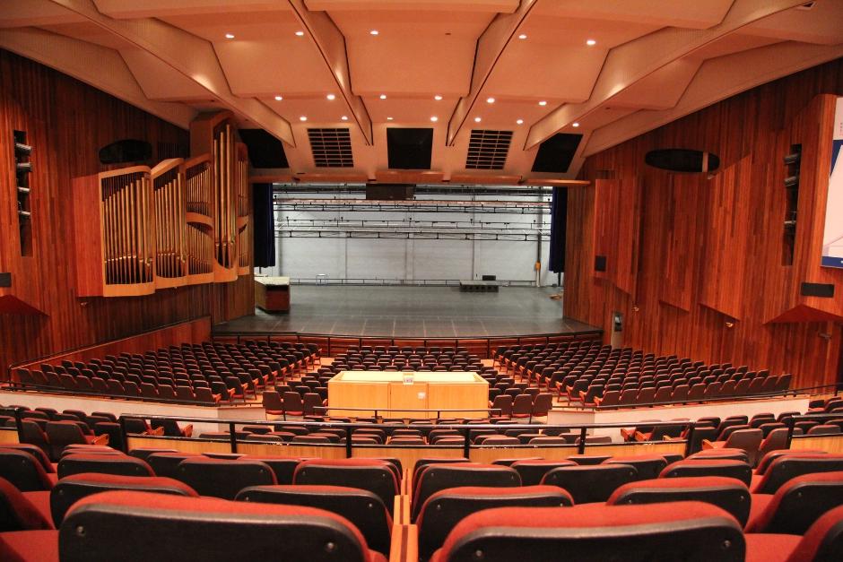 World by Design: Pretoria's Magnificent Aula Theatre: In