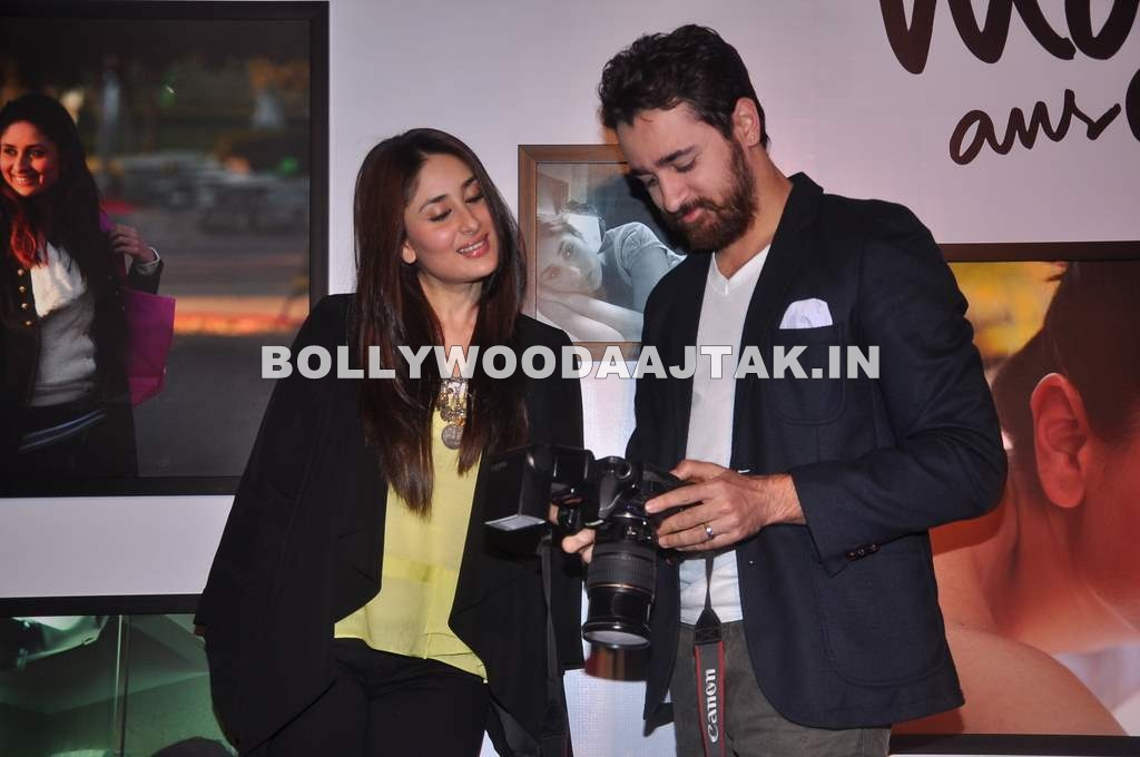 1 - Kareena & Imran Khan at Ek Mein Aur Ek tu photo exhibition