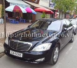 Cho thuê xe Mercedes VIP S500