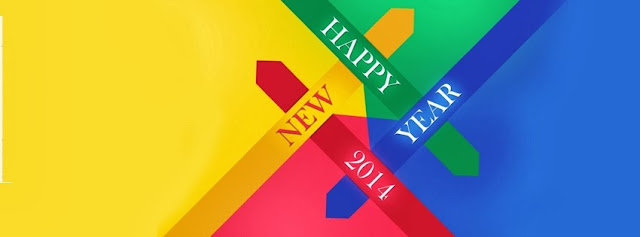 New Year 2014 Facebook timeline covers