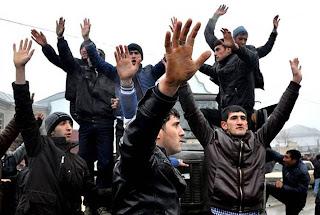 az azeri lezgi opposition protest aliyev azerbaijan