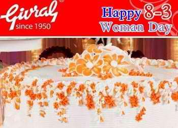 Mua bánh kem nhận hộp quà chocolate xinh xắn trong dịp 8/3 tại Givral, Bakery khuyến mãi, điểm ăn uống 365