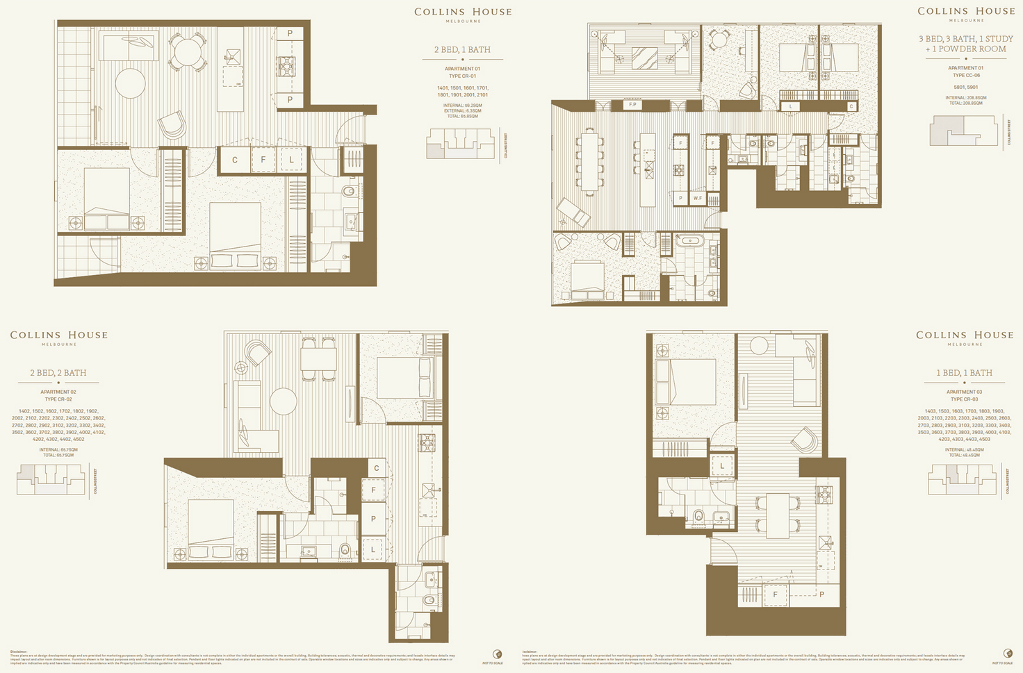 Collins House @ Melbourne FloorPlan