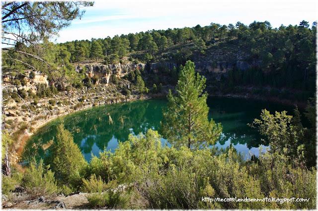 Laguna de la Gitana, Cañada del Hoyo