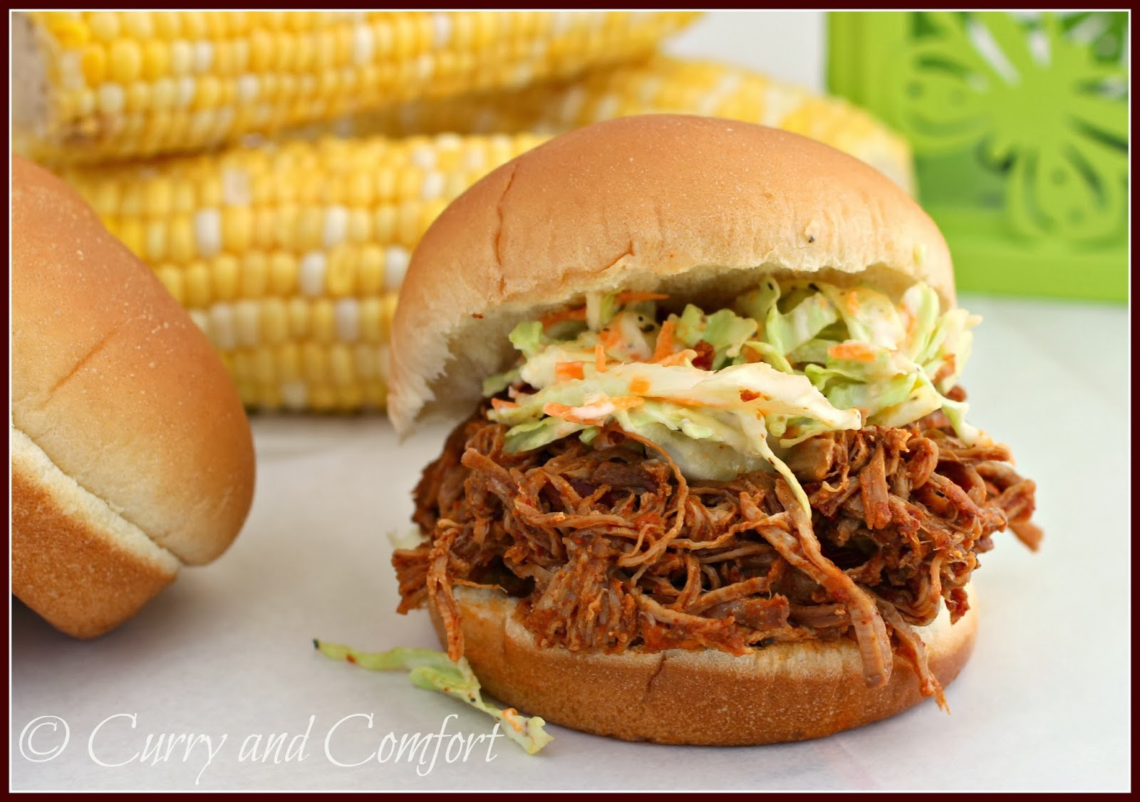 ... and Comfort: Barbecue Pulled Pork Sandwiches (Throwback Thursday