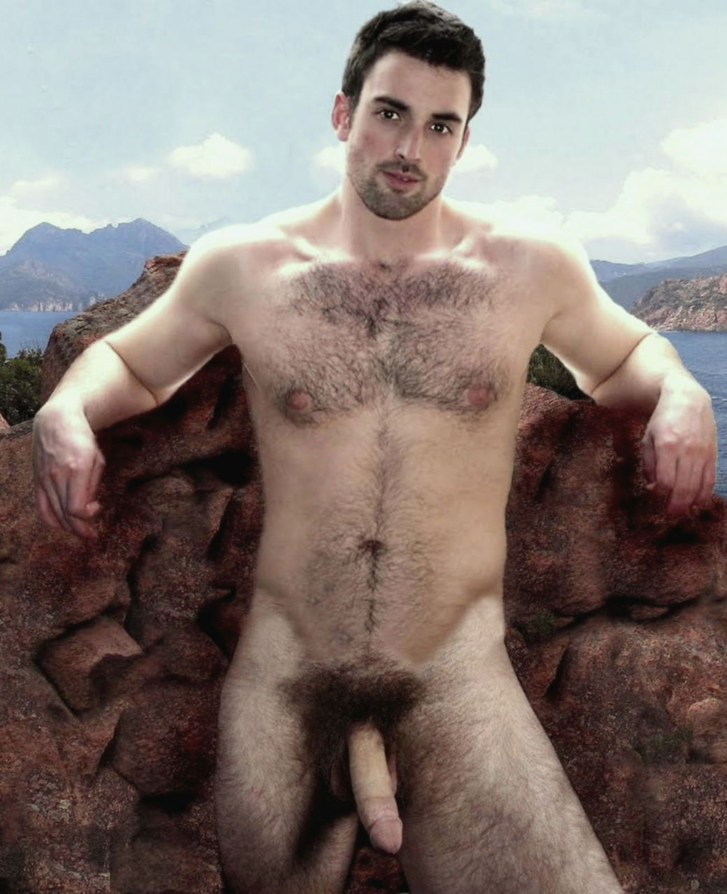 Naked Hairy Men