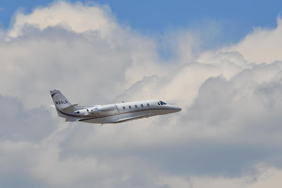 Cessna 560XL Takeoff From Aspen Airport