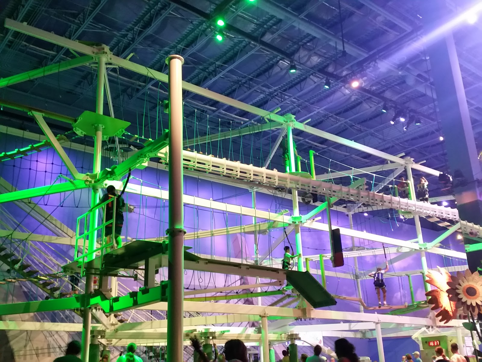 BeanStalk Adventure Ropes Course Review