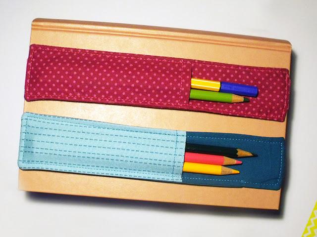 just sewn last minute weihnachtsgeschenk penholder zum. Black Bedroom Furniture Sets. Home Design Ideas