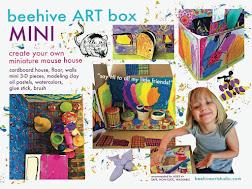 beehive MINI HOUSE  ARTbox