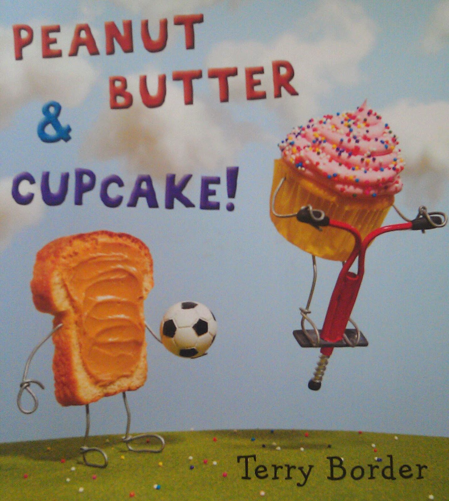 http://www.amazon.com/Peanut-Butter-Cupcake-Terry-Border/dp/0399167730/ref=sr_1_1?ie=UTF8&qid=1413563440&sr=8-1&keywords=peanut+butter+and+cupcake