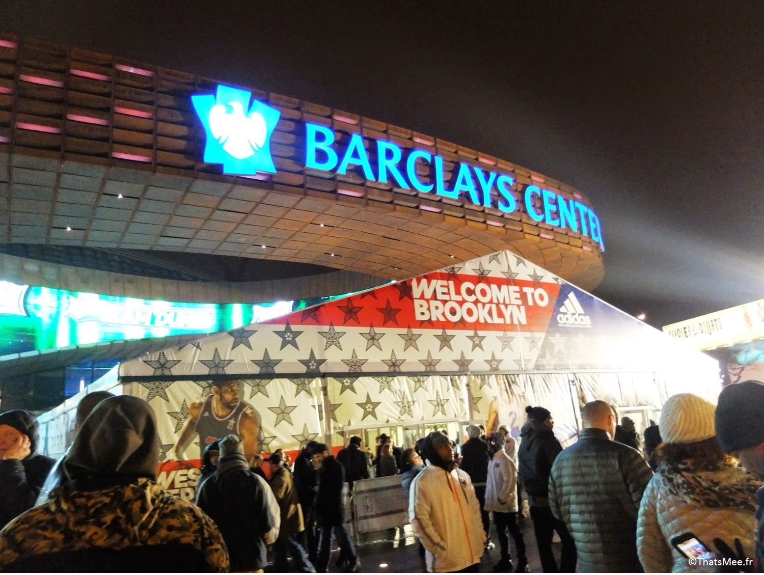 NBA All Star Game, Barclays Center Brooklyn New-York