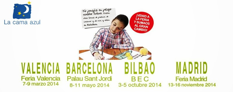 Proximas ferias 2014 la cama azul la cama azul for Proximas ferias en barcelona
