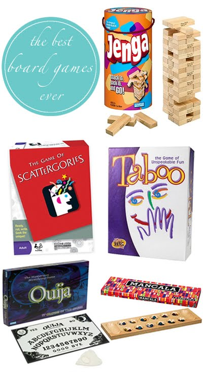 Do you like playing board games? I love having board games around the ...