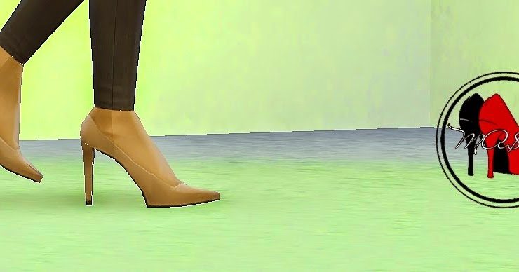 MA$ims 3: High Heel Platform Pumps [Sims4] | Sims 4
