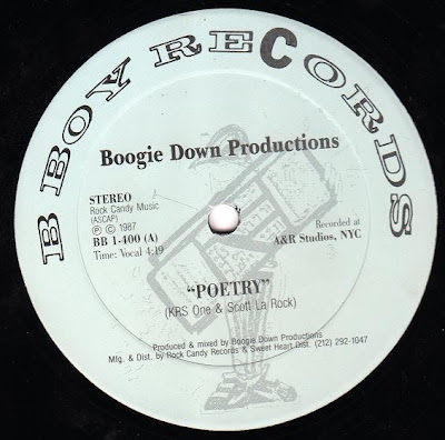 Boogie Down Productions – Poetry / Elementary (VLS) (1987) (320 kbps)