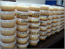 Mini Caramel Pudding
