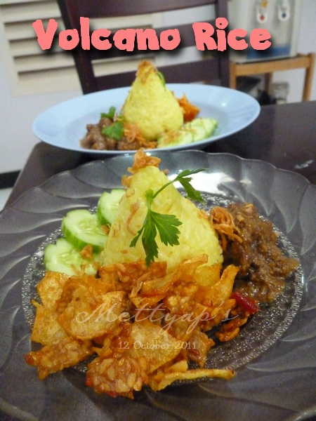 how to make nasi kuning in a rice cooker