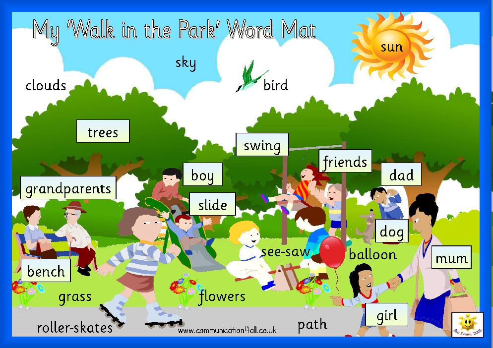 ENGLISH KIDS FUN: At the park