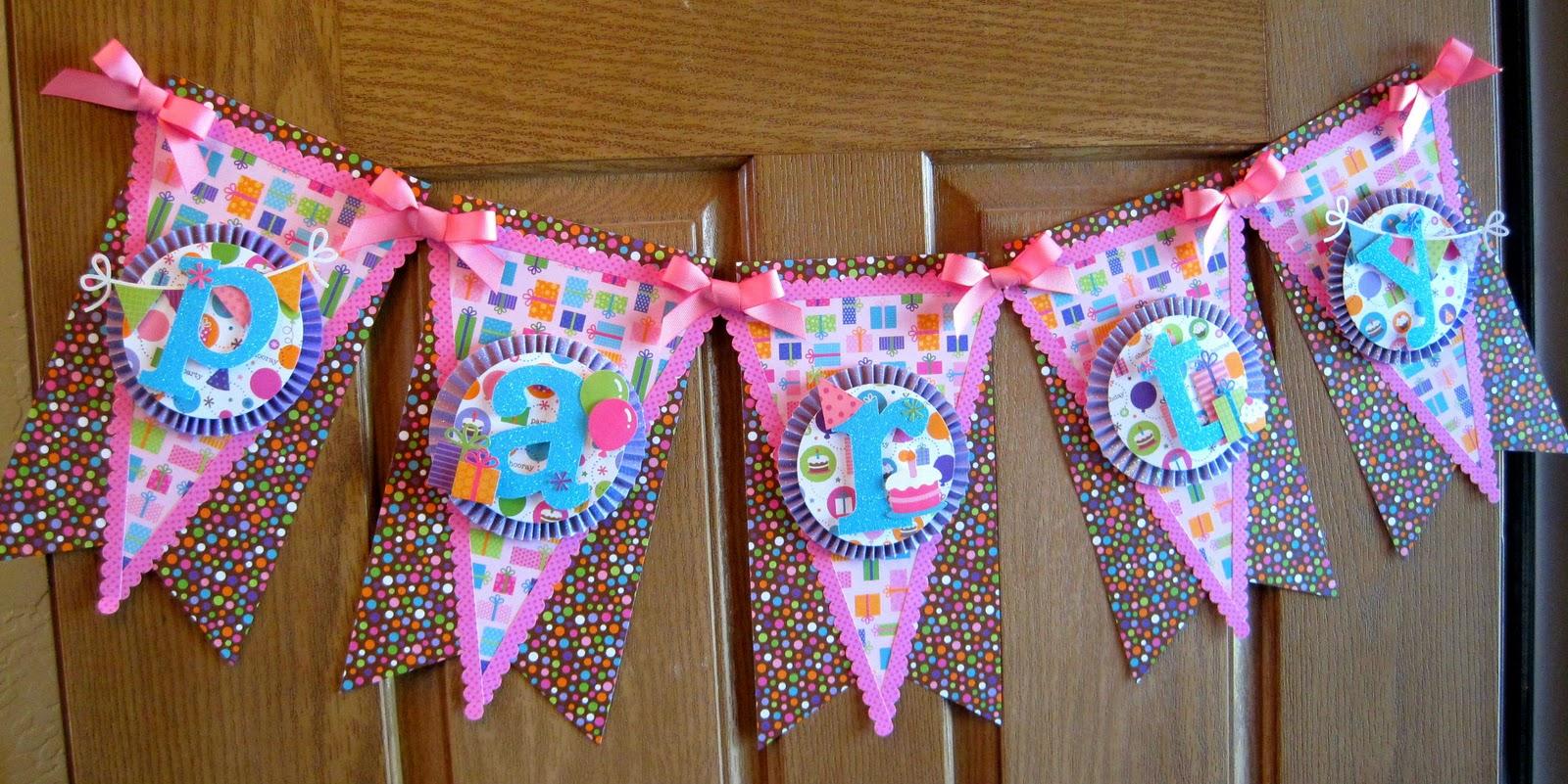 Doodlebug Design Inc Blog: Party Banner by Tiffany Hood