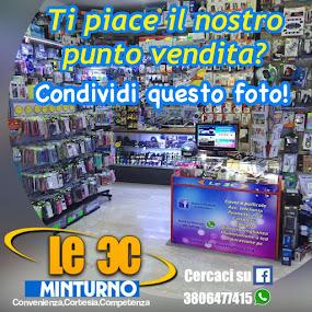 Il nostro punto vendita a Minturno Prov.Latina