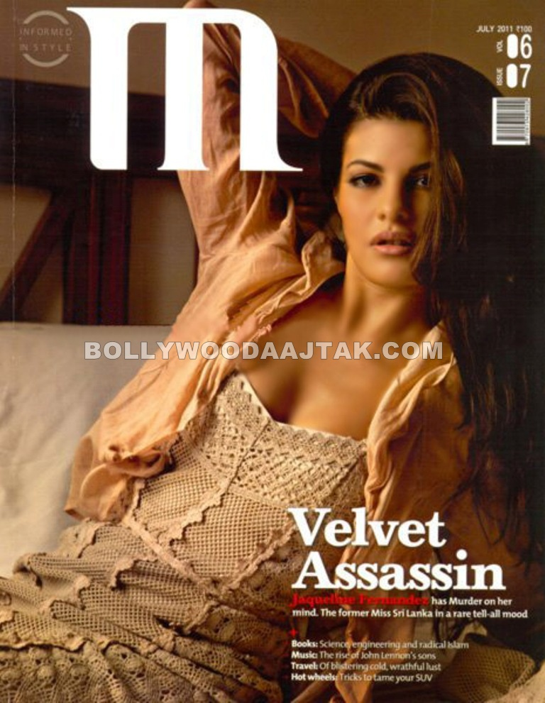 Jaqueline Fernandez Photoshoot for M Magazine July 2011