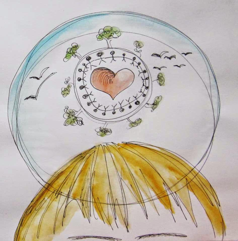 Píntate De Optimismo Y Creatividad: Meditación Y Creatividad