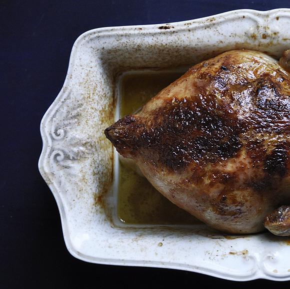 Roasted chicken @ beer