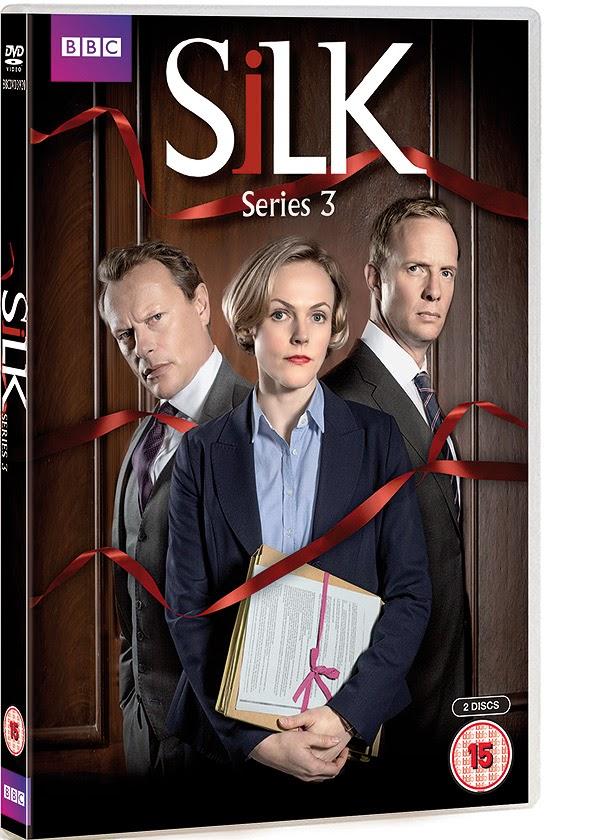 Silk Series 3 on DVD sees feelings run high when a murder trial close