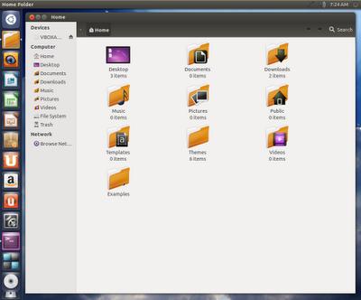 icones Kalahari Ubuntu