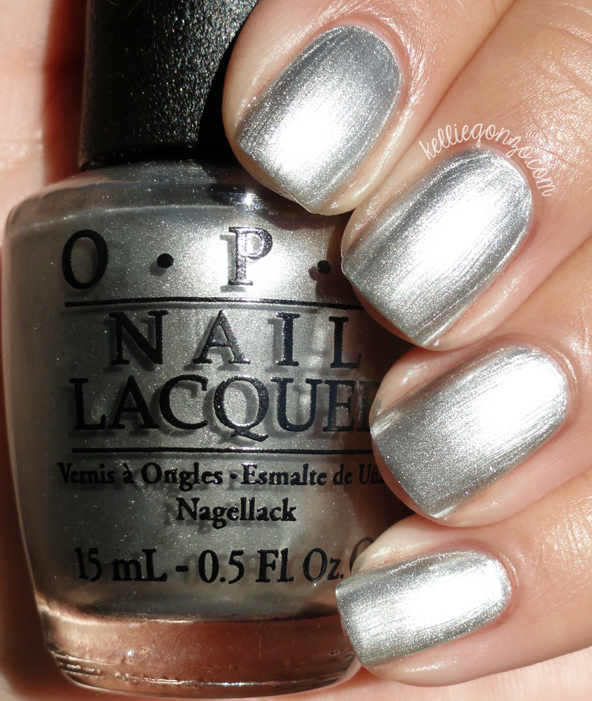 OPI My Silk Tie Fifty Shades of Grey