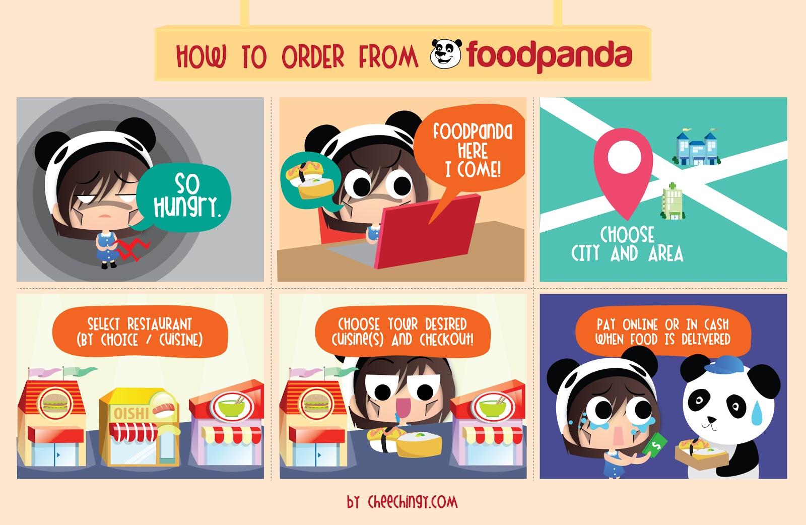 Foodpanda website