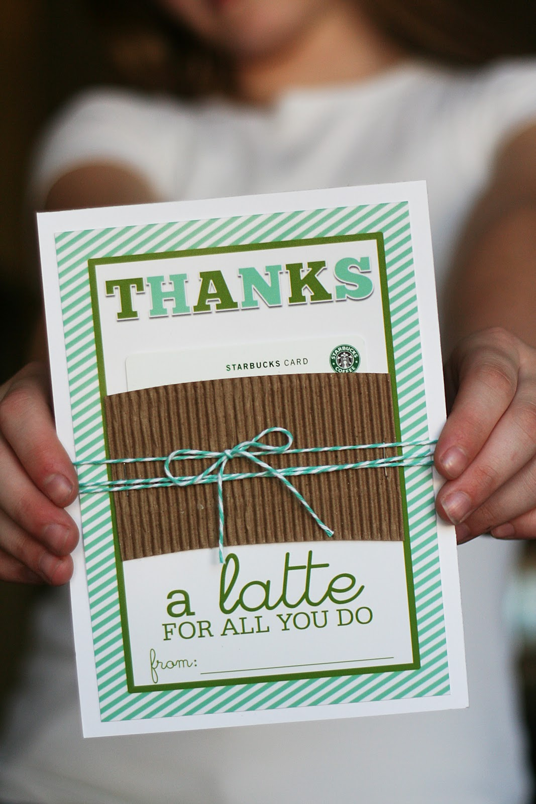 Easy homemade teacher appreciation craft ideas Thanks for all you do gifts