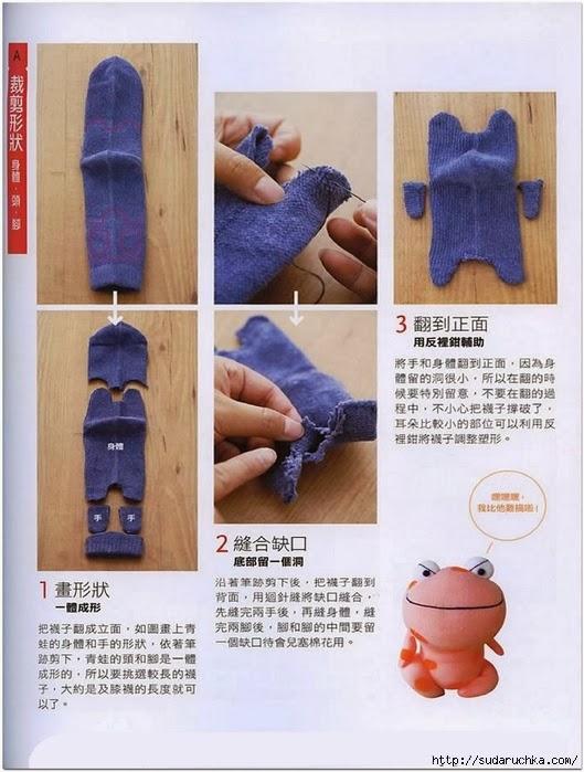 Из носков своими руками пошаговая инструкция 19