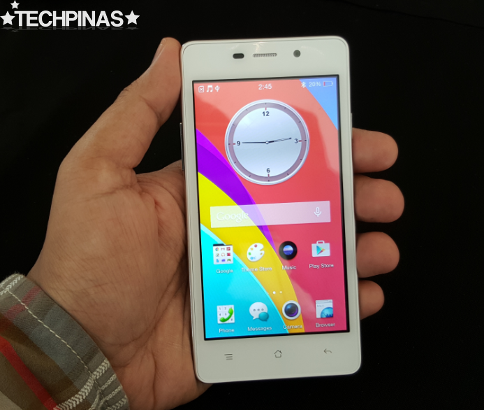 Oppo Joy 3 White, Oppo Joy 3 Philippines