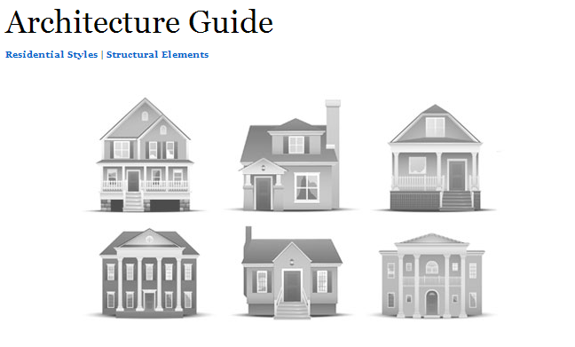 Guide to Residential Styles