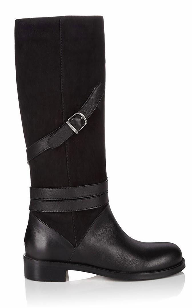 Jimmy Choo Darla Black Suede Boots