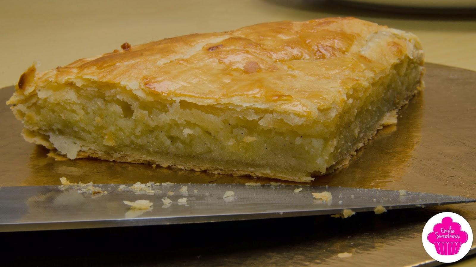 Galette à la frangipane - Recette de Mercotte avec la pâte feuilletée inversée