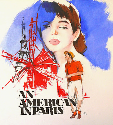 Poster Of Hollywood Film An American in Paris (1951) In 300MB Compressed Size PC Movie Free Download At World4ufree.Org