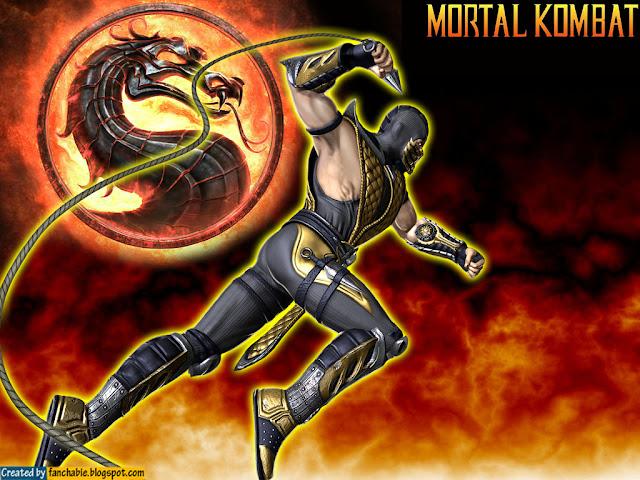 flaying Kunai Scorpion MK