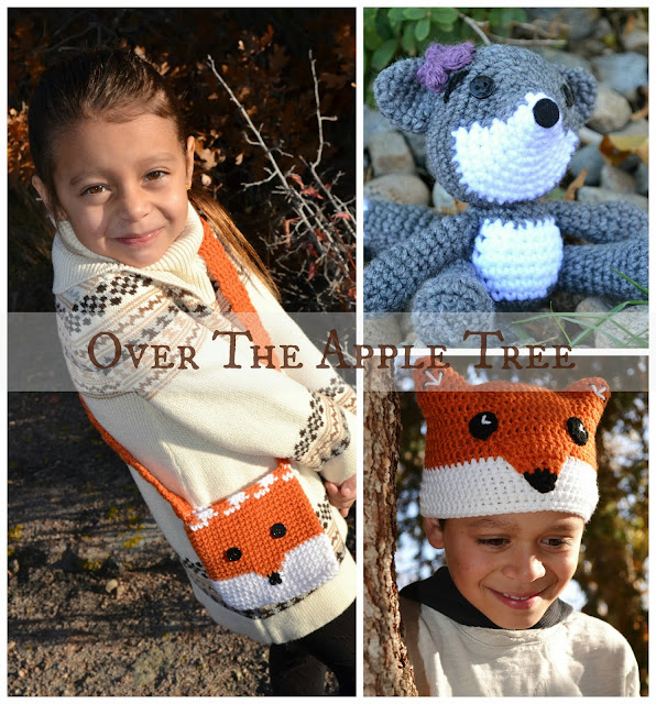 Crochet Fox Creations by Over The Apple Tree