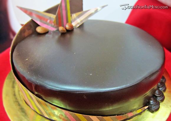 Almond Ganache Torte