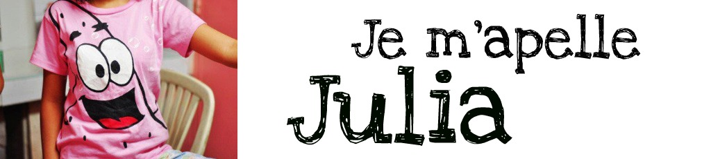 Je m'apelle Julia