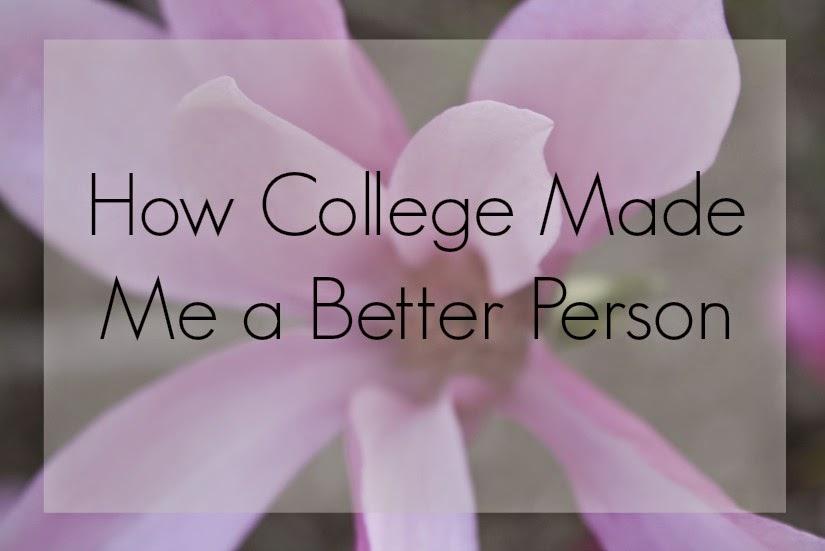 Self-Improvement through College