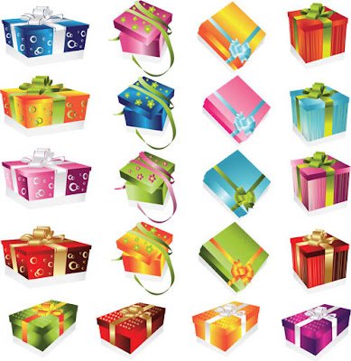 Various Gift Boxes Design