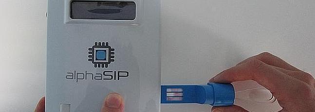 Test de Drogas desechable para saliva DrugSIP - cdpsaeu