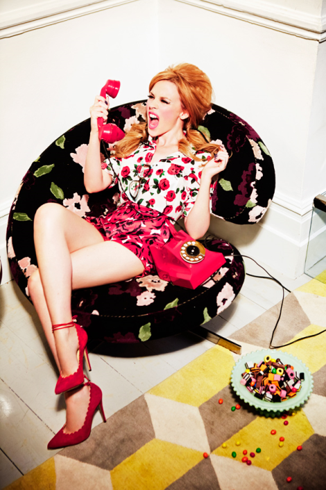 Kylie Minogue by Ellen von Unwerth for Stylist Magazine