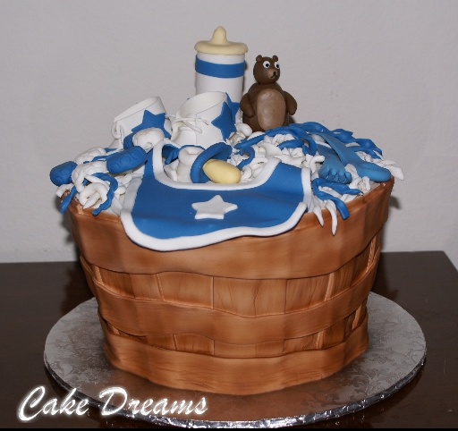 Dallas Cowboys - Baby Shower Cake