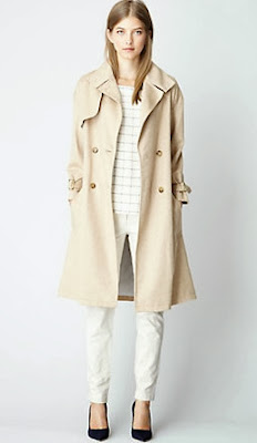 Steve Alan Camel Trench Coat